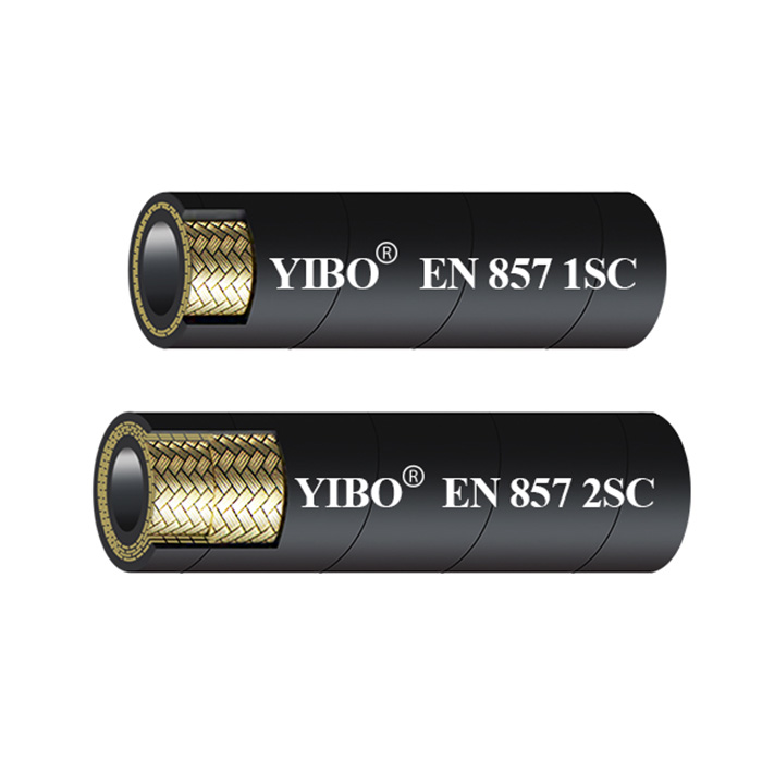 EN857 SC WIRE BRAID REINFORCED COMPACT HYDRAULIC HOSE